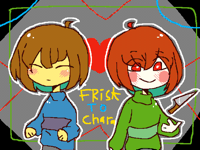 Frisk to chara (animation)