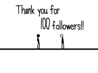 100 followers!!