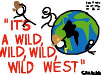 its a wild, wild, wild, wild west