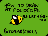 cool drawing tutorial - folioscope (cool)
