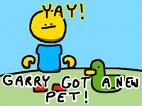 Garry Got A New Pet! (31 frames)