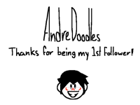My 1st follower left