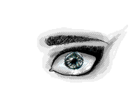 How I draw an eye