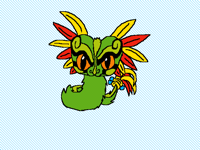 Mini Quetzalcóatl (please vote fol my dad).