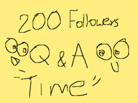 200 followers :D