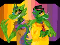 Just gay aligators keep scrolling