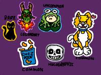 Free stickers :3