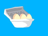 Bouncy egg :)