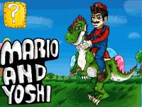 Realistic Mario and Yoshi