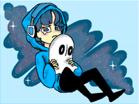 ~Napstablook~(humanisation)