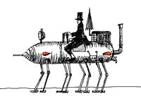 Steam horse
