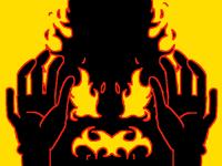 Flamme noire