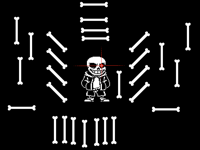 Sans (the pixel is