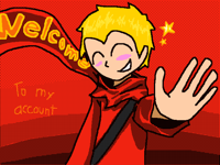 Welcome to my account!