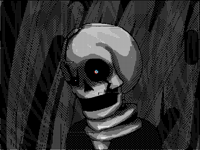 Undertale Skeleton realistic