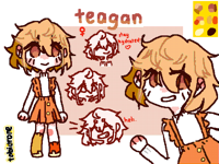 TEAGAN ; oc.