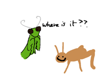 My mantis is very smart