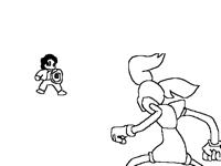 Steven vs spinel (finale)