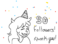 thank you for 80 flollowers!
