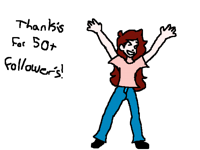 Thank you for 50+ followers!