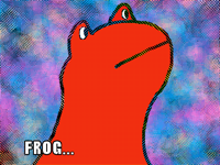 I'm Frog,who are you?