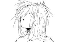 When hair..