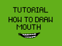 How to draw mouth TUTORIAL