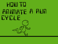 How to animate a run cycle
