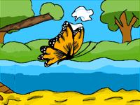 Butterfly flight!