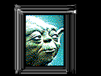 Yoda Star Wars Pixel Art
