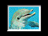 Dolphin Pixel Art