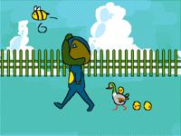 Going on a stroll 𓂻 @pug_bunny