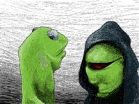 Evil Kermit (redraw)