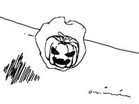 Floating Pumpkin