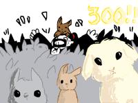 300!! (ft. bunnies)