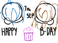 ITS MY BDAY | sketch