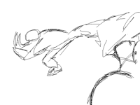 Quick sketch animation