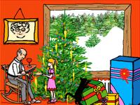 Noël chez grand-papa