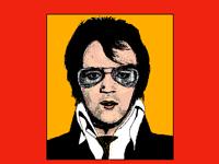 Pop art : Elvis#2