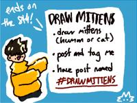!!!draw mittens contest!!!