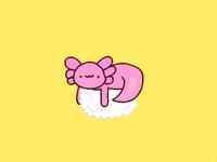 axolotl sushi