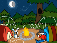 Camping Collab! (2/10)