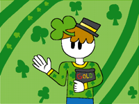 Me but Saint Patrick's Day