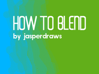Tutorial: How to blend