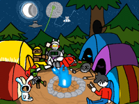 Camping Collab! (10/10)