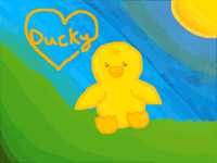 Ducky (Made by my sister)