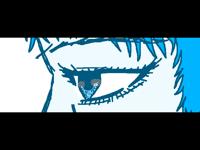 I like drawing eyes
