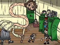 Little Nightmares II -Chapter 2 scene