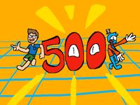 Wohoo 500 Followers!
