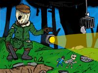 Little Nightmares II -Chapter 1 scene